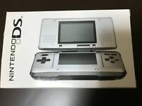 Nintendo DS Platinum Silver Console System Japan NEW