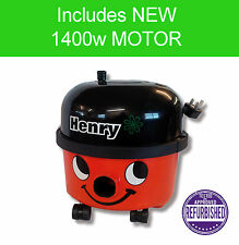 Numatic Henry - including  NEW 1400W Motor - Hi Power Cylinder Vacuum Cleaner