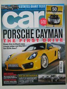 Car March 2013 Porsche Cayman Lamborghini Avantador Miura 320d A4 C220 CDi GT500