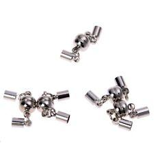 5 Chiusure Magnete Magnetiche Per Bracciali Collane 8X4Mm F2T3