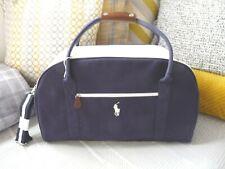 NEW Ralph Lauren World of Polo Dark Navy Blue Weekend/Travel/Gym/Holdall Bag
