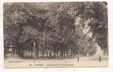 nevers, entrée du parc , place carnot