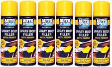 6 x Auto Car Filler Primer Spray 200ml Putty Paint High Build Scratch Remover..