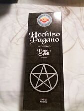 pack de 6 incienso  echizo pagano sac / spell pagan   sac   , 120 barillas