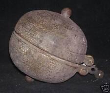 Antique Indian Ethnic Rare Betel Lime Box Rare Collectible