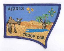 AJ2013 - AUSTRALIA SCOUT NATIONAL JAMBOREE - TROOP D48 SCOUTS BADGE