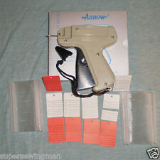 Arrow Clothing Price Label Tagging Tag Tagger Gun +500 Barbs + 50 Price Labels