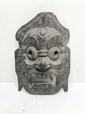 Hand Carved Antique Thai Mask