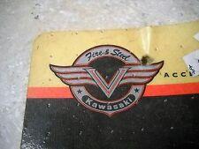 NOS OEM Kawasaki Billet Chrome Fork Caps VN1500 Vulcan 1988 VN800 K53020-106