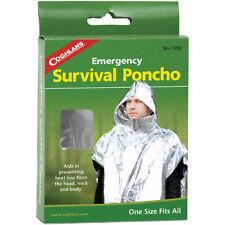 Coghlan's Poncho de Emergencia de Supervivencia reducir la pérdida de calor, Camping Rescate De Seguridad