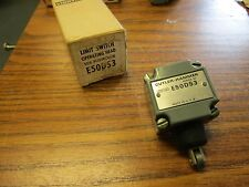 Cutler-Hammer E50DS3 Operating Head Limit Switch With Side Pushroller **NEW**