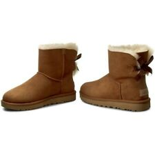 UGG Australia Stivali Donna W MINI BAILEY BOW II 1016501 Chestnut Women's Boots