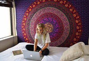 Retro Beach Towel Tapestry Indian Hippie Wall Hanging Throw Mandala Tapestry