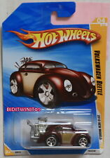 HOT WHEELS 2010 NEW MODELS VOLKSWAGEN BEETLE TAMPO VARIATION W+
