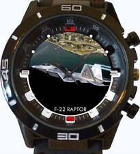 F22 Raptor Jet Fighter New Gt Series Sports Wrist Watch