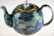 22cm Waterlilies Decorative Ceramic Teapot