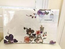 New CHARISMA Luxury 100% Cotton KING DUVET COVER CLARA WATERCOLOR FLORAL 1pc NIP