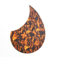 """Small Self Stick thin pickguard For 36"""" Acoustic Guitar ,tri-color Tortoise"""