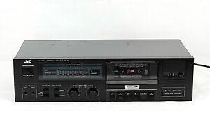 Vintage JVC KD-V100NC ANRS Stereo Cassette Tape Deck Player Recorder Japan Black