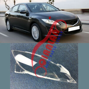 For Mazda 6 2009-2013 Right Side Headlight Lens Cover + Sealant Glue Replace