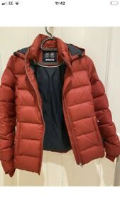 Musto Down Jacket Women's Size 10 (UK) 38 (EU) Red - Excellent Condition!