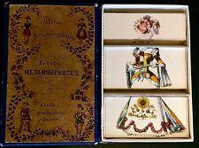 ANTIQUE RARE VICTORIAN PARLOR SECTIONAL CARD GAME MISFITZ LITTLE METAMORPHOSIS
