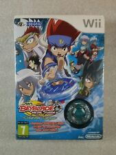 NEUF BEYBLADE METAL FUSION COUNTER LEONE + TOUPIE- JEU WII VF sous blister