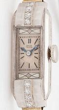 Antique 1920s ART Deco $8000 Diamond ROLEX Platinum Ladies Watch WARRANTY
