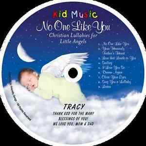 ~eBay~No One Like You Personalized Kids Christian Lullaby Music CD