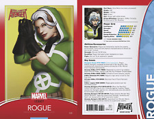 UNCANNY AVENGERS #28 CHRISTOPHER TRADING CARD VARIANT MARVEL LEGACY COMICS ROGUE