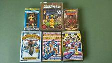 Various Spectrum ZX Games, 48k, 128k, Vintage