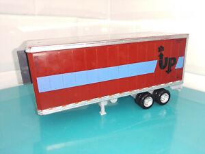 VOITURE métal Mattel Cars Disney Pixar Camion remorque Oliver Lightload Hauler