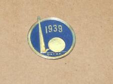 Vintage 1939 New York Worlds Fair Souvenir Small 1 1/8 inch Sticker