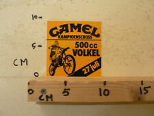 STICKER,DECAL VOLKEL MX MOTORCROSS 500 CC 27 JULI CAMEL MX A