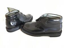 Rocky Men's Black High Gloss Patent Leather Dress Chukka Boot, Men's Size 7 M