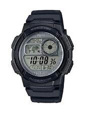 Casio AE1000W-7AV, 10 Year Battery Watch,100M, 5 Alarms,Chronograph,Illuminator