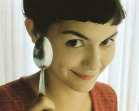 233857 AUDREY TAUTOU CLASSIC SMILE BIG EYES AMELIE PRINT POSTER US