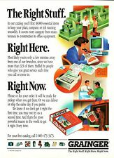"Grainger--1992 ""The Right Stuff"" Advertisement"