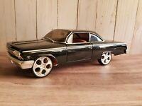 Maisto Pro Rodz 1962 Chevy Bel Air Hard Top 1:18 Scale Diecast Model Car Black