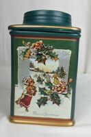 Oneida Sakura Holiday Memories Collection Christmas Day Stoneware Canister
