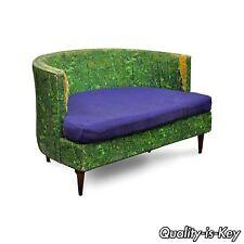 Vintage Selig Mid Century Modern Oversized Wide Barrel Lounge Chair Baughman Era