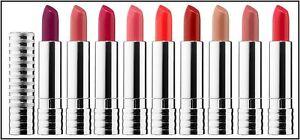 Clinique .14 oz / 4 g Long Last All Colors Lipstick In A Green Promo Casing
