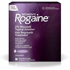 Rogaine Women's Hair Regrowth Treatment - Unscented - 3 Month Supply Exp 01/21