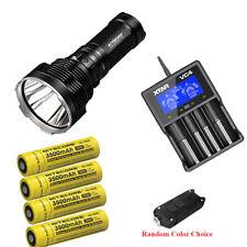 Holiday Set: Acebeam K70 LED Flashlight ,4x3500mAh batteries,VC4 charger & TIP