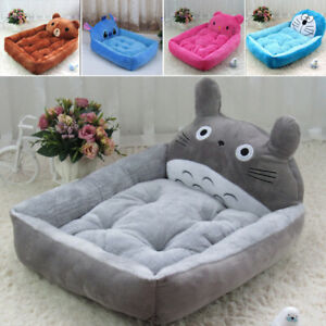 2019 Winter Pet Dog Cat Warm Totoro Bed Cushion Cute Soft Cushion Kennel Pad Mat