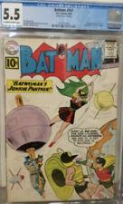Batman #141 (1961) CGC 5.5 KEY 2nd Batgirl 1st Clockmaster appearance. Nice!