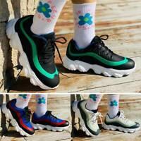 Damen Sneaker Turnschuhe Laufschuhe Plateau Flach Schuhe Fitness Freizeitschuhe