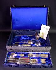 reichhaltiges Silber Besteck in Schatulle - NICA 100er Silber