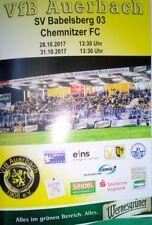 PRG VfB Auerbach vs. SV Babelsberg 03/Chemnitzer FC (Regionalliga/Sachsen-Pokal)