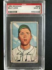 1952	Bowman	Billy	Loes	240	PSA 9	Dodgers